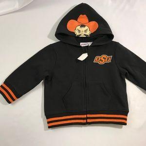 Kids Oklahoma State University Sz 18M Jacket Rare